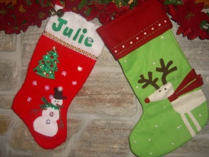 2 rejected stockings