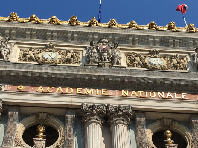Opéra Garnier roofline