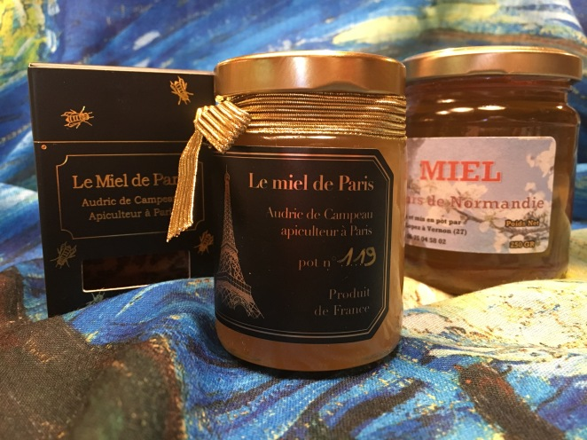 Paris and Normandy honey